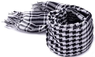 Квадратный мужской шарф (Keffiyeh)
