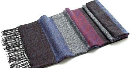 Большой мужской шарф из пашмина (Pashiman)