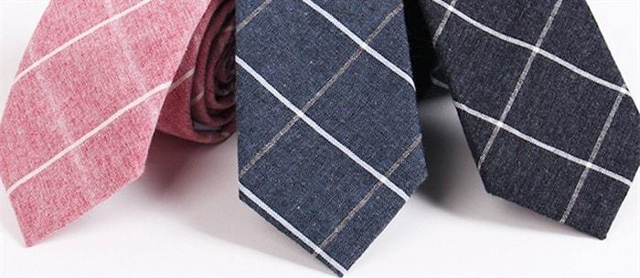 Ткань мужского галстука