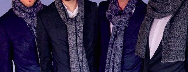 Размер мужского шарфа